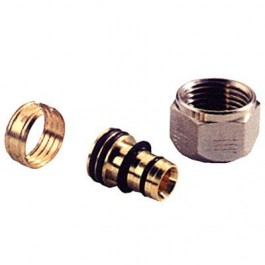 ADAPTER-SPOJNICA AL/PEX 1/2x(16x2) CH Henco 10-1604SN