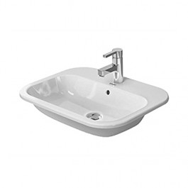 LAVABO 600x460mm UGRADNI HAPPY D2 Duravit 0483600000