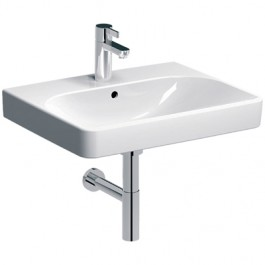 LAVABO 600x480mm SMYLE SQUARE Geberit 500.229.01.1