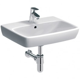 LAVABO 600x460mm SELNOVA SQUARE Geberit 500.300.01.1