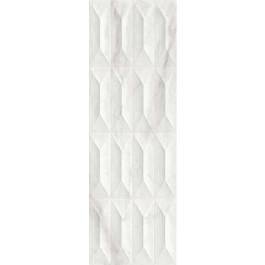 PLOČICE IMPERIALE STRUTTURA GEMMA 3D BIANCO GLOSSY RETT 300x900 Ragno R755