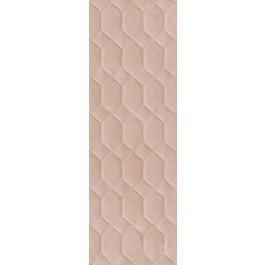 PLOČICE RESINA STRUTTURA BEE 3D ROSA RETT 400x1200 Ragno R79P