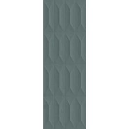 PLOČICE TEMPERA STRUTTURA TRAPE 3D VERDE RETT 300x900 Ragno R701