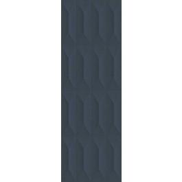 PLOČICE TEMPERA STRUTTURA TRAPE 3D BLU RETT 300x900 Ragno R703