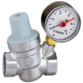 REGULATOR PRITISKA SA MANOMETROM CALEFFI