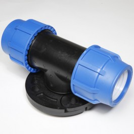 OKITEN T-KOMAD SA FLANŠNOM PVC - PLASTICA ALFA