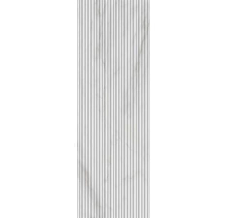 PLOČICE IMPERIALE STRUTTURA SHANGAI 3D BIANCO GLOSSY RETT 300x900 Ragno R74M