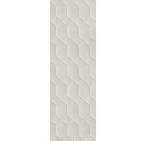 PLOČICE RESINA STRUTTURA BEE 3D GRIGIO RETT 400x1200 Ragno R79N