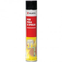 PUR PENA U SPREJU 750ml Wurth 08921500